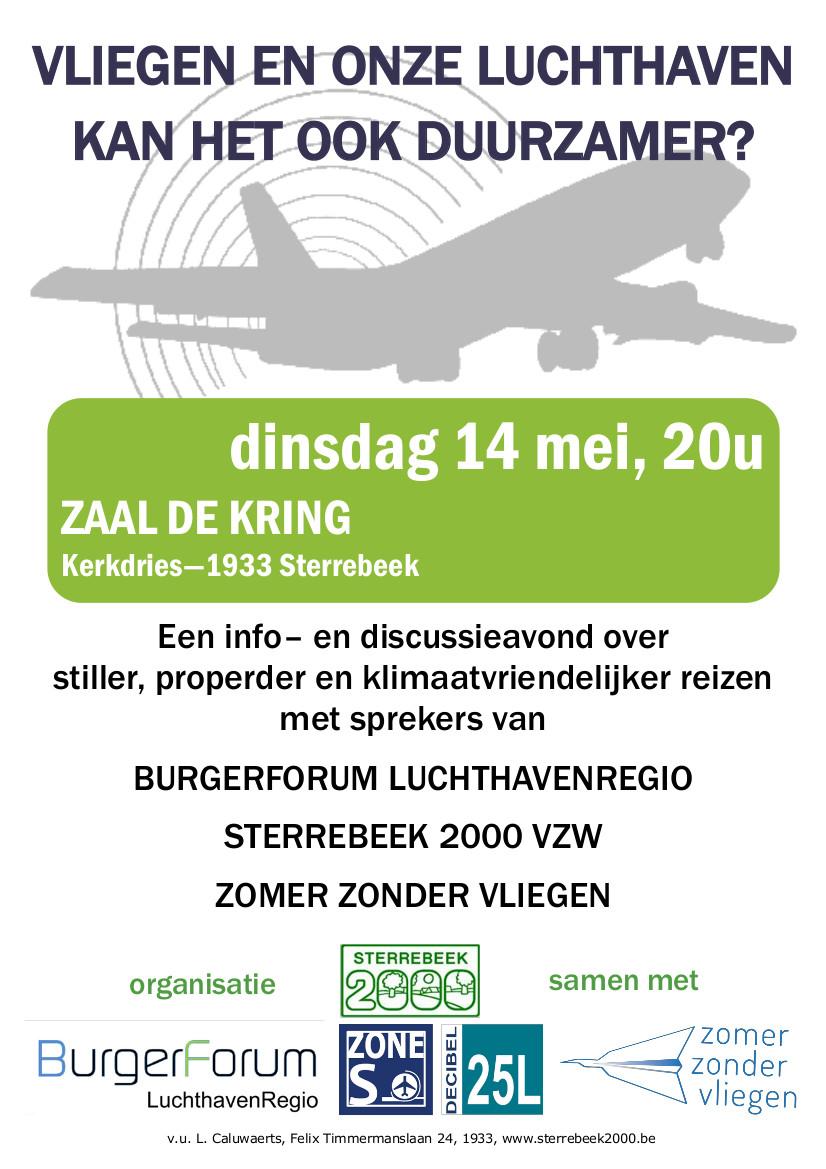 Vliegen en onze luchthaven: kan het ook duurzamer ?