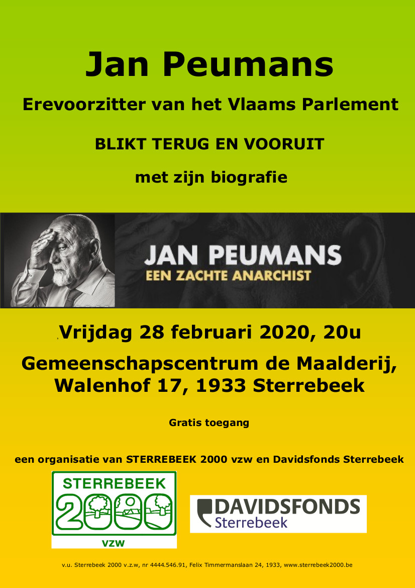 Jan Peumans, een zachte anarchist