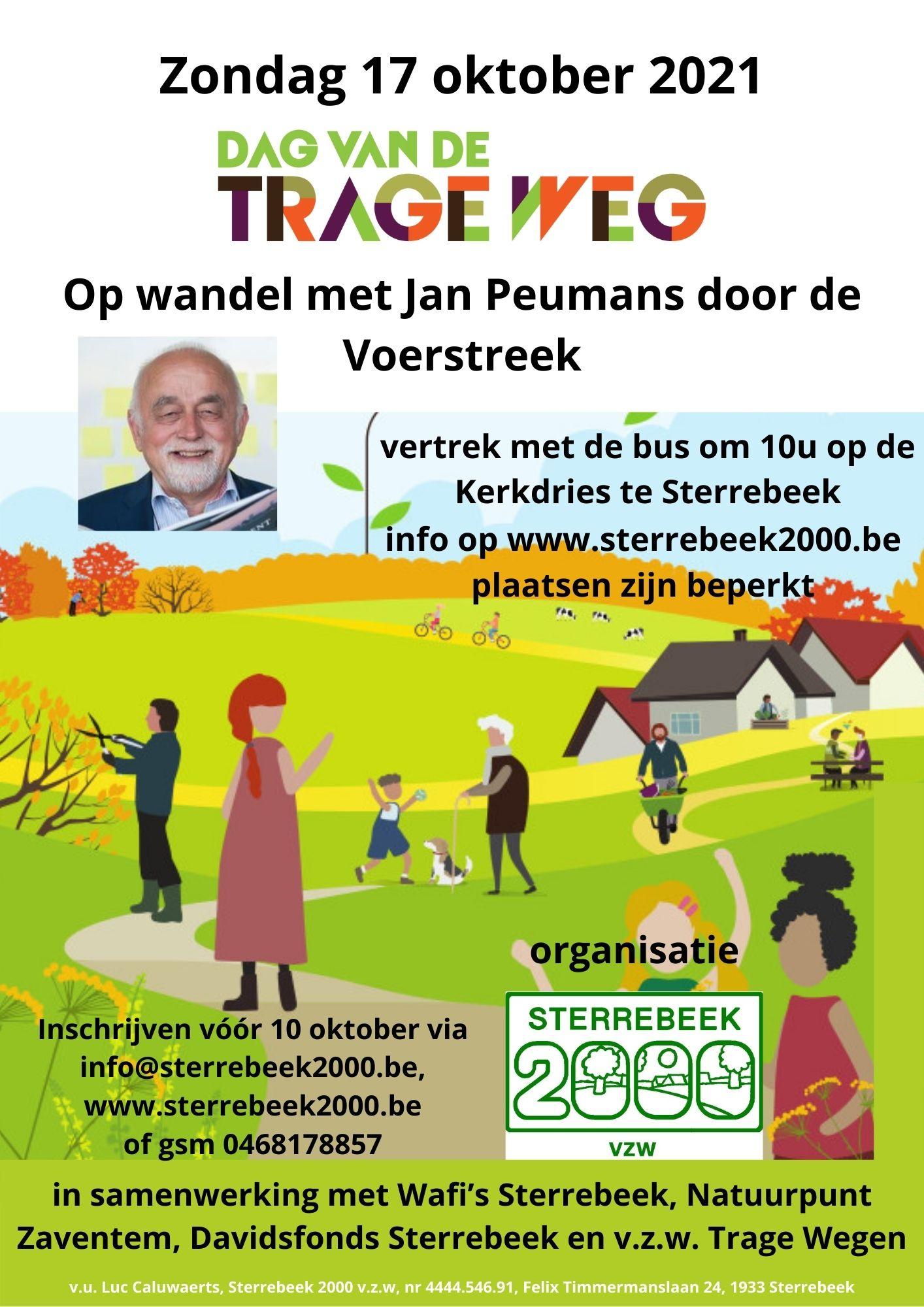 Op wandel met Jan Peumans door de Voerstreek